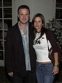 С мужем Дэвидом Аркеттом